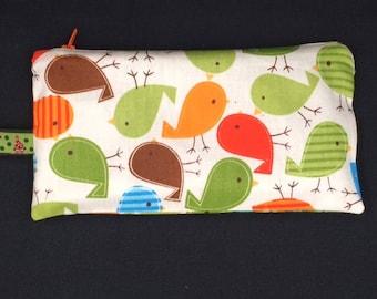Kit cotton bird motifs