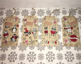 Tag book marker and Christmas gift tags