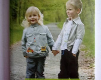 SEWING book with patterns - sewing for boys from 3months to the 6 years