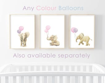 nursery art prints, elephant art, nursery decor, elephant prints, nursery wall art, nursery prints, elephant artwork, elephant wall art
