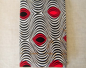 Card case with ethnic pattern