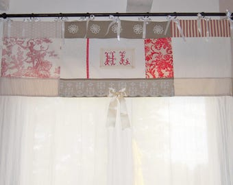 Great shabby sheer curtain
