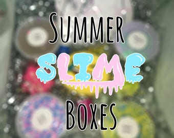 Season Surprise Slime Box