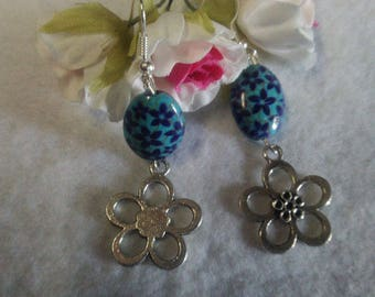 Create charm earrings