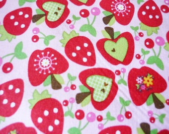 Fabric American Apple Hoo's in the forest - Riley Black