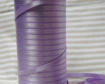 Purple 6 mm purple satin ribbon
