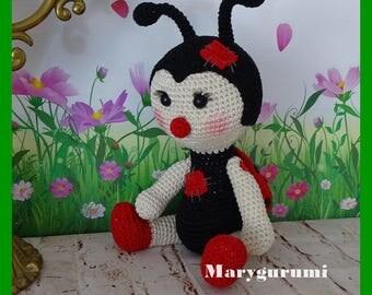 Ladybug, crochet, Amigurumi plush