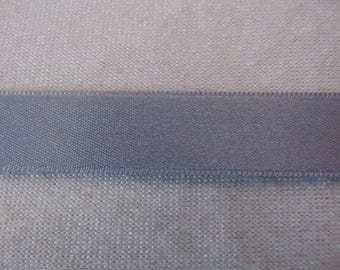 Satin ribbon, grey (S-234)
