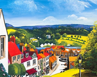 Bakewell from Church Lane - Prints