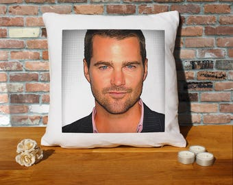 Chris O'Donnell Pillow Cushion - 16x16in - White