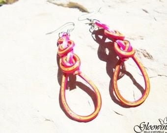 Bamboo earrings