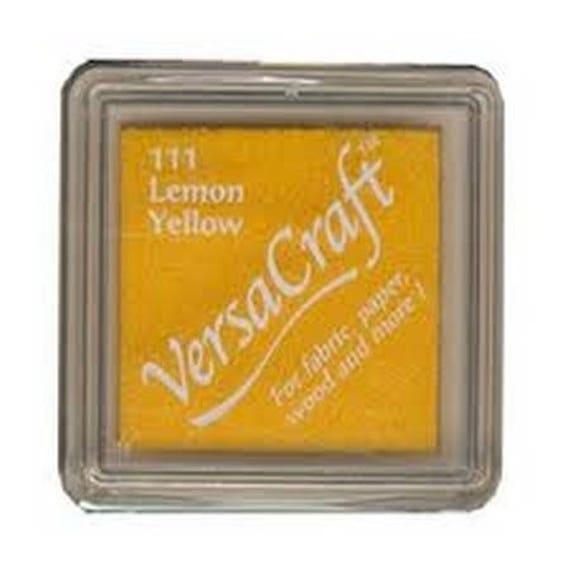 Lemon VERSACRAFT ink - Yellow - for fabric and wood