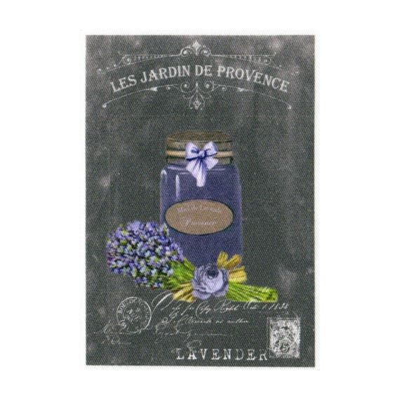 """Applied fusible - Collection """"Lavender background chalk"""" AT404-2"""
