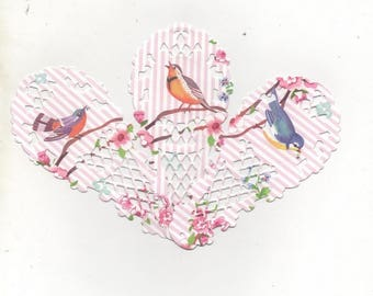 Set of ornaments for your cards or scrapbooking No. 142 fans