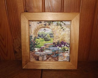 Mueble de ba o hecho con madera de palet reciclada con lavabo for Confeccionamos muebles de bano en palet