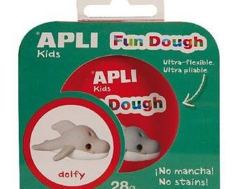 "Kit playdough Fun Dough 28 Gr ""Dolfy"" - APLI Kids - Ref 13757 - until the stock!"