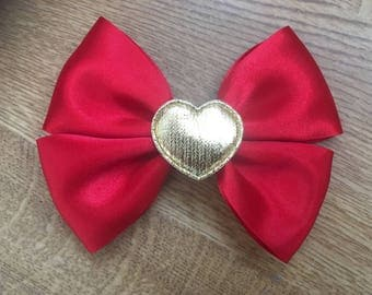Christmas themed bow
