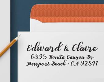 Return Address Stamp 329 - Self Inking Stamp, Custom Address Stamp, Custom Stamp, Personalized Address Stamp, Wedding and Housewarming Gift