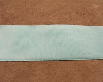 Velvet-5 cm - sky blue ribbon
