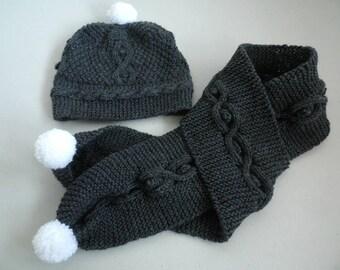 06-12 months old to tassel scarf destock Hat