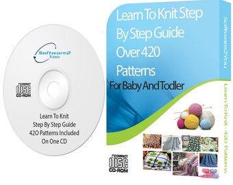 Learn How to Knit For Beginners Plus Over 420 Baby Knitting Patterns Collection.