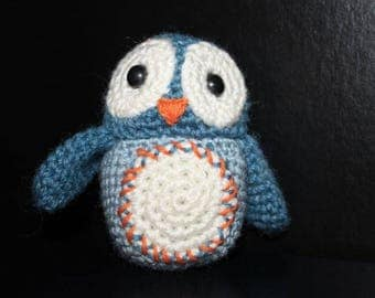Feather a little OWL to crochet