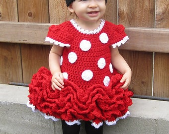 Minnie Mouse Dress and Ears