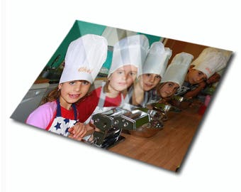 Cutting board personalized with your photo