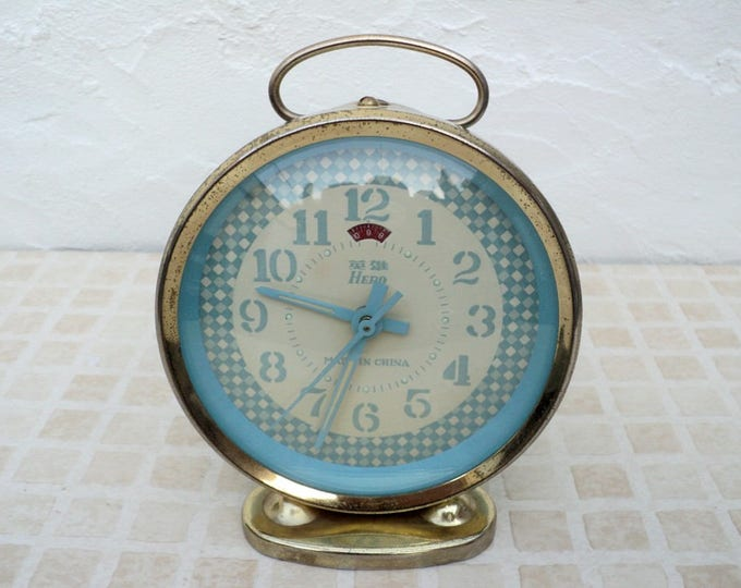 For the Home: Vintage mechanical alarm clock Sevani from ...