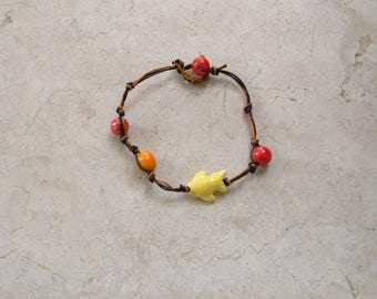 yellow fish bracelet