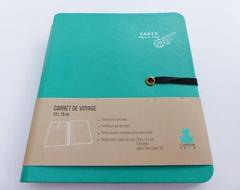 travel with envelope notebook holder documents hardcover elastic closure