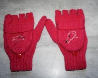 fingerless mittens greyhounds