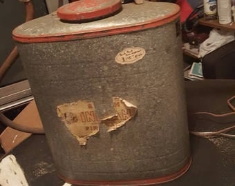 Antique back pack fire extinguisher