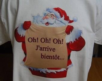 """humorous printed Tee """"Santa Claus '"""""""