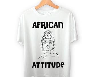 African Attitude Women's Tee