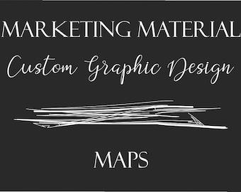Custom Graphic Design - Maps