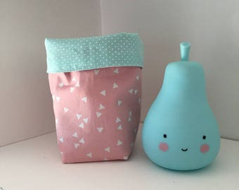 Cotton tissues tidy to baby