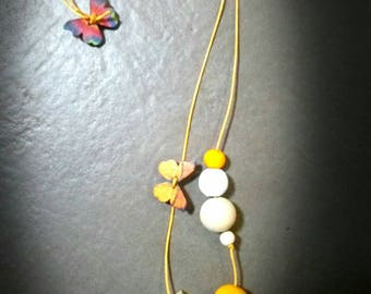 Wooden necklaces