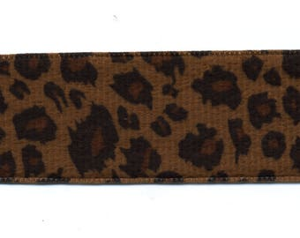 Fancy Brown 38 mm C005 skin in Leopard Ribbon
