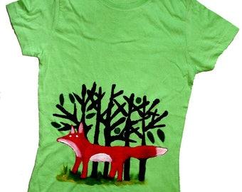 Red Fox tshirt