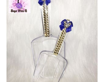 Disney Inspired Mickey Mouse Wedding Ultra Bling Candy or Ice Scoops (Set of 2)