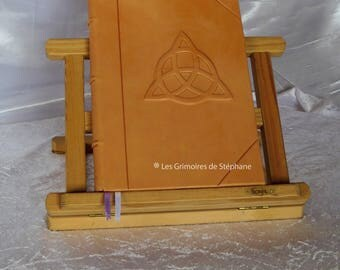 Book of shadows natural leather