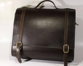 A4 men's leather bag