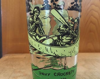 Davy Crockett glass