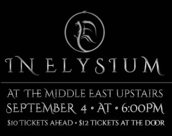 In Elysium Ticket for 9/4/17 Event