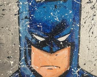 Batman portrait - Pop Art