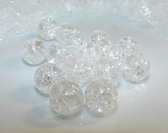 Inclusion of 12 mm Crystal stone. Semi-precious stones.
