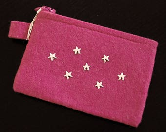 Pouch Pink Star