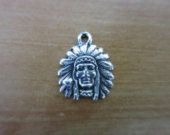 Silver Indian charm