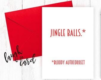 Funny Christmas Cards, Christmas Cards, Boyfriend Christmas Cards, Girlfriend Christmas Cards, Wife, Husband Christmas Cards | jingle balls